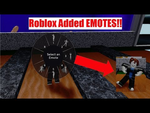 How To Equip Emotes In Roblox Roblox Emotes Update Youtube