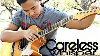 (Plus Tutorial)Careless_Whisper - Alexandr Misko style NO CAPO - (Guitar Fingerstyle Cover)