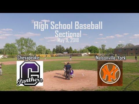 High School Baseball - Chesapeake v Nelsonville York