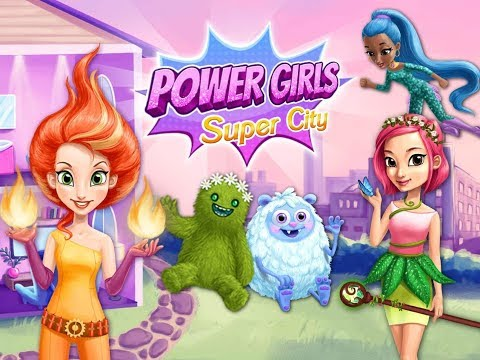 Fun Baby Care Kids Games - Power Girls Super City - Play Superhero Style Makeover & Monster Rescue