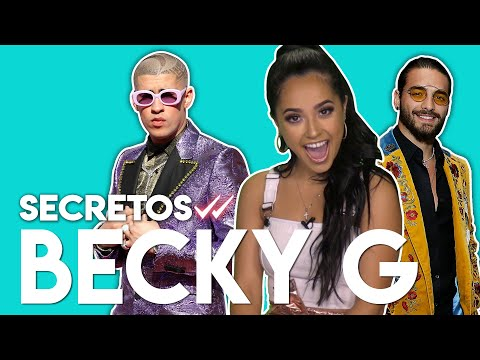 Becky G ve a Bad Bunny y Maluma como nadie los ha visto | Secretos Mp3