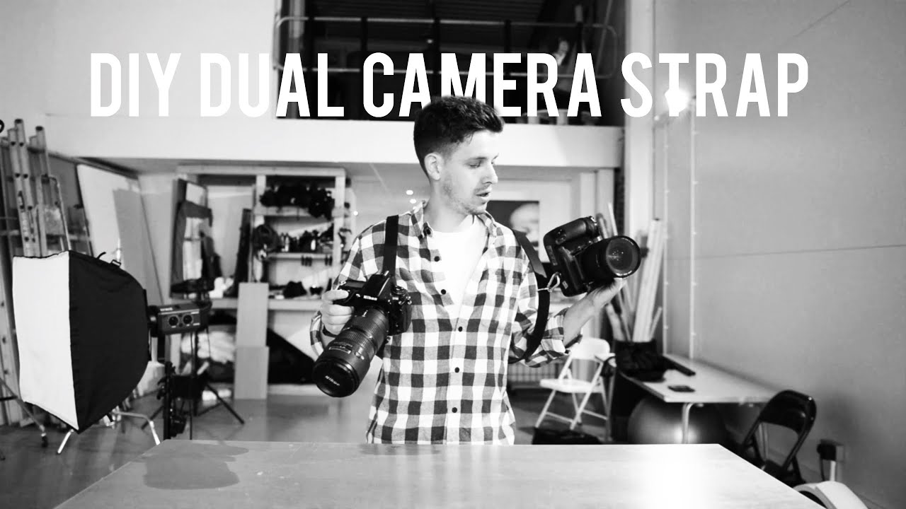 DIY DUAL CAMERA STRAP PROJECT - YouTube