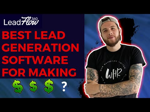 ⭐Best Lead Generation Software 2020 💰 Leadflow360 – Get access to 80 MILLION CLIENTS INSTANTLY!