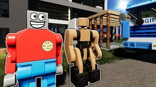 A Day in the Life of Bob! - Brick Rigs Roleplay Gameplay - Lego Movie
