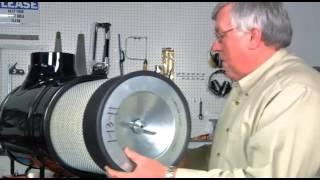 Выбор воздушного фильтра Donaldson. (Обучающий модуль А02А)