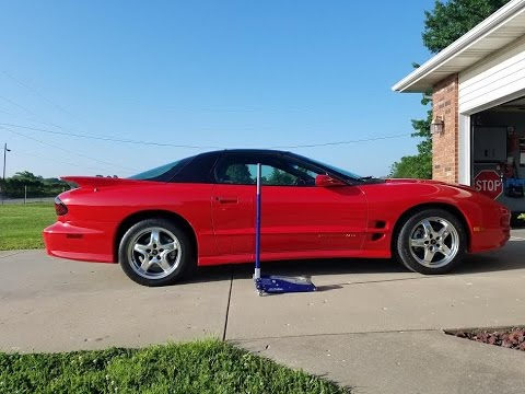 How to properly lift and support FBody (Camaro, Trans Am, Firebird)