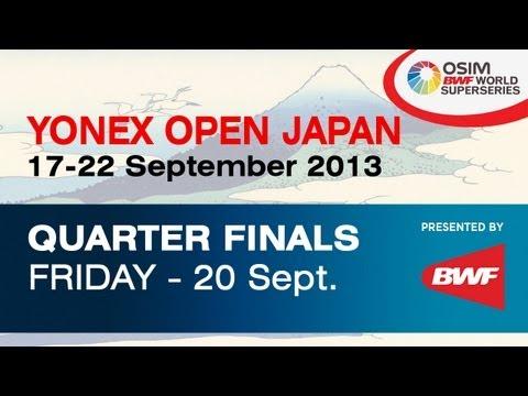 QF - WD - Poon L.Y. / Tse Y.S. vs. M. Matsutomo / A. Takahashi - 2013 Yonex Open Japan