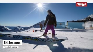 Ski lessons: Freestyle skiing | Online ski course