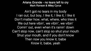 Miley Cyrus - No tears left to cry feat. Mark Ronson (Ariana Grande cover)