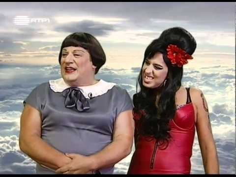 Amy Winehouse e Beatriz Costa - HERMAN 2011