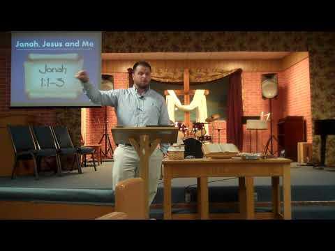 """8/20/17 Message: Dan Carter """"Jonah, Jesus and Me"""", Jonah 1:1-3."""