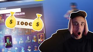 I buy a 100€ FORTNITE account and THAT happened... 😱 (UNBELIEVABLe)