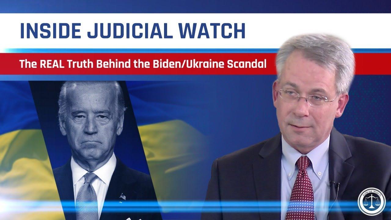 Judicial Watch The LATEST on the Biden-Ukraine Corruption Scandal | Inside Judicial Watch
