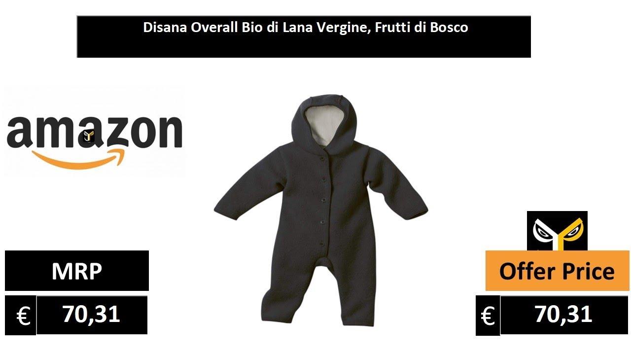 /Overall Bio di Lana Vergine Disana/ Frutti di Bosco