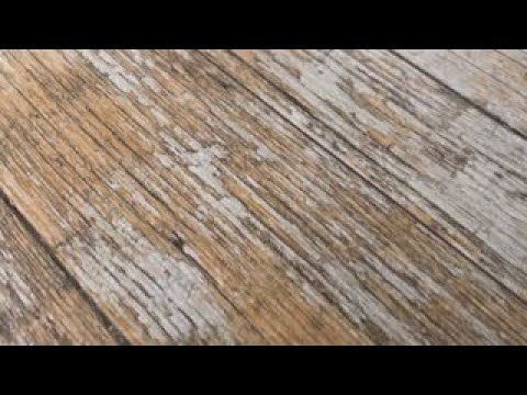 Shabby Chic Wood Effect Porcelain Tiles | Upcycle Flooring | DIY Tile Installation Engineered Floors