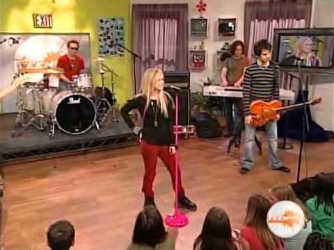 Avril Lavigne - Teen Nick Night 21/04/2007