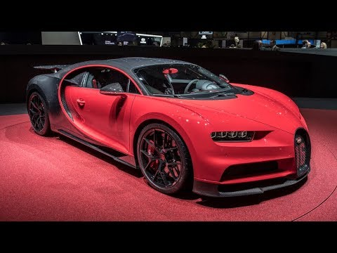 2019 Bugatti Chiron Sport Arrives In Geneva Sporting 500 Km/h Speedometer