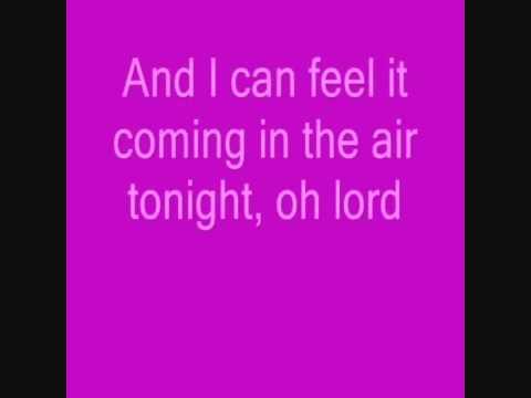 In The Air Tonight   Karaoke