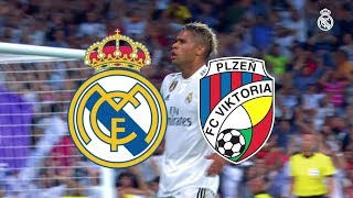 Real Madrid vs Viktoria Plzen | 2 - 1