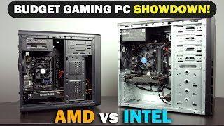 2016 $400 Budget Gaming PC Showdown - Intel vs AMD (Ep.3)