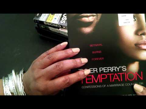 ASMR DVD Collection Tyler Perry Movies (whispering, gum chewing and tapping)