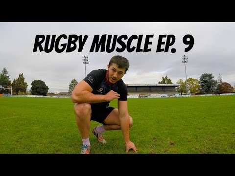 Rugby Muscle: How I train for Rugby | Improving agility and stepping | Episode 9