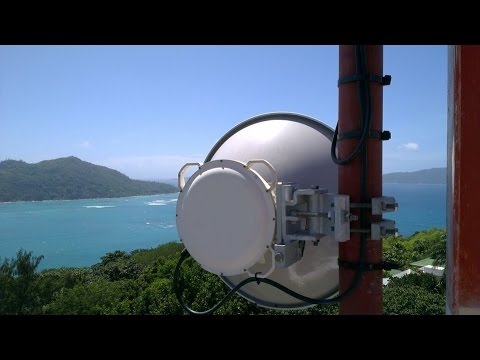 Point to Point Radio Link NanoBeam M5 400 Full Configuration (37 km)