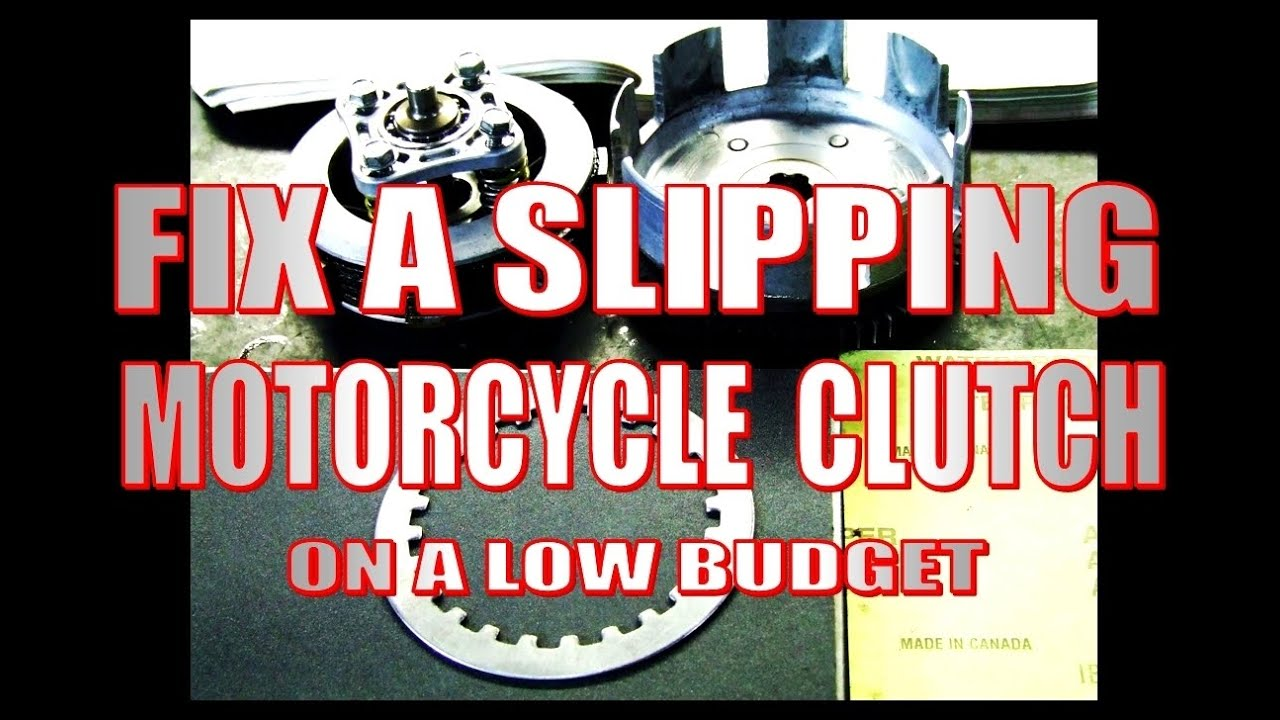 Fix A Slipping Motorcycle Clutch On Low Budget Youtube Parts 2011 Ex650cbf Ninja 650r Engine Mount Diagram