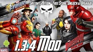 MARVEL: Avengers Academy 1.3.4 Mod (Free Store, Instant Action, Free Unlock, Free Upgrade) APK