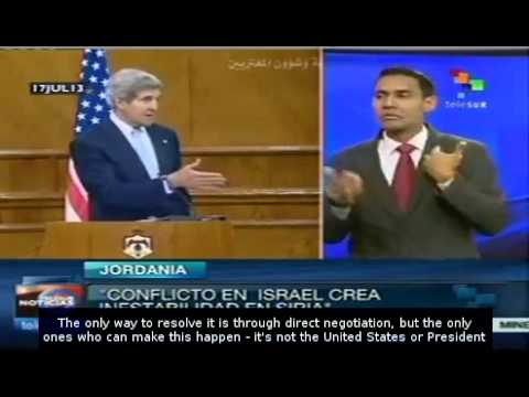 Israeli Palestine Conflict Causing Instability In Middle East: Kerry