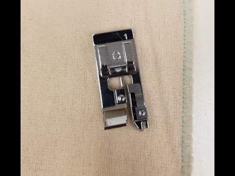 How To Do An Overcast Stitch On Your Brother Or Baby Lock Sewing Machine