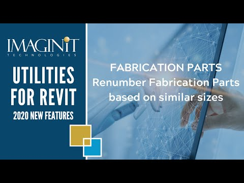 Utilities for Revit Fabrication Parts
