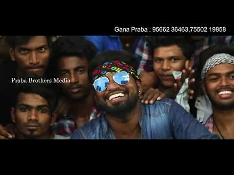 Mersal Mechanical Song 2018 | Chennai Gana Praba | Praba Brothers Media