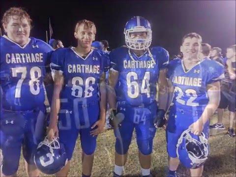 2016 Football Seniors - CHS Tigers.  #WARCATS