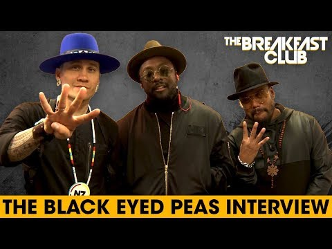 Black Eyed Peas Blow Our Minds With Their Comic Book, Talk Fergie, Eazy-E + More