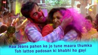Balam Pichkari Karaoke || YJHD ||100% Full Clean Karaoke with Lyrics || FREE