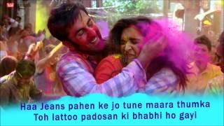 Balam Pichkari Karaoke || YJHD ||100% Full Clean Karaoke with Lyrics || FREE