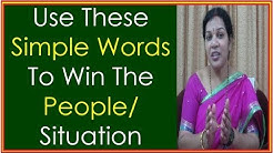 """Use These Simple Powerful Words To Win The People/ Situation"" - A Soft Skills Training"