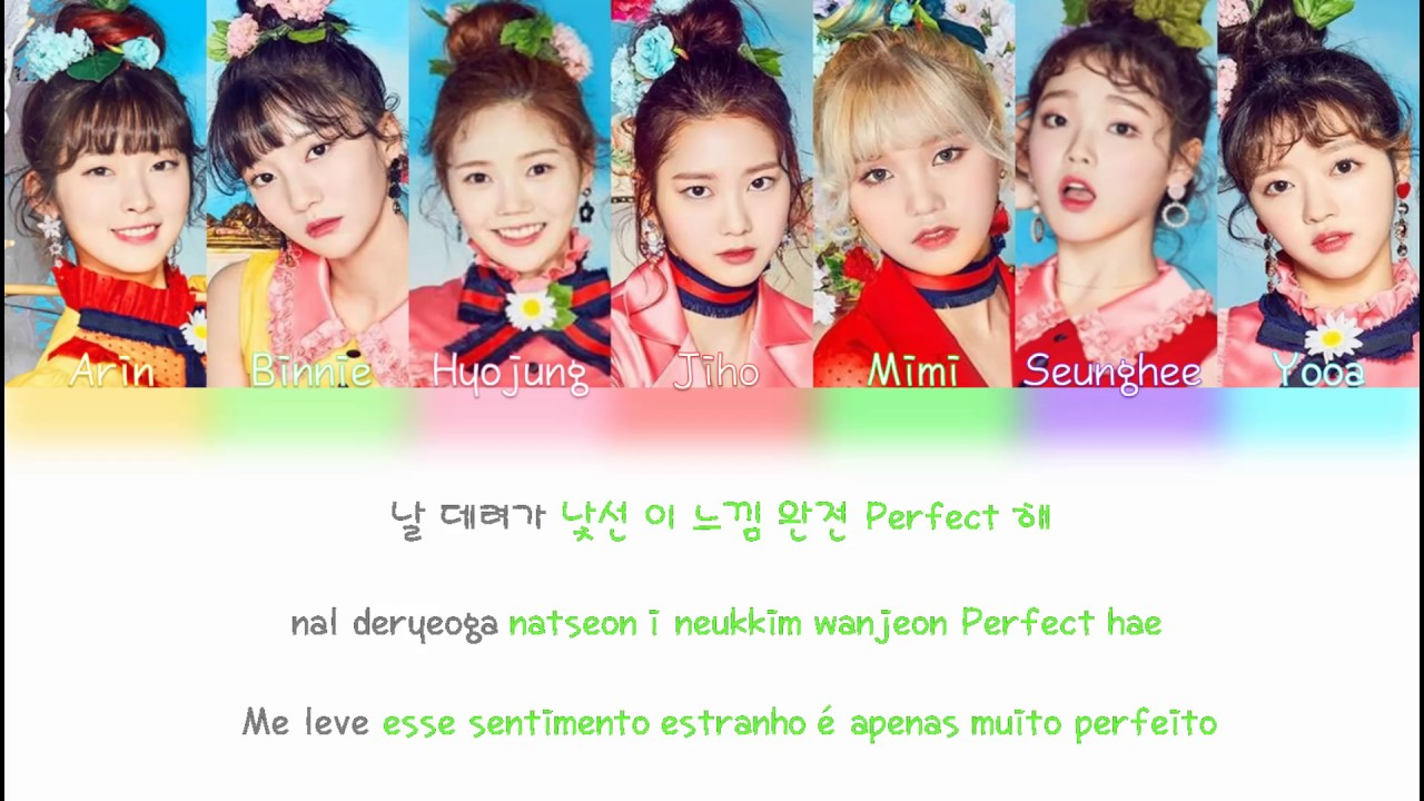 Oh My Girl (????) Coloring Book (????) [Color Coded Lyrics] (PT BR/ROM/HAN) YouTube