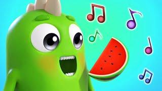 Учим Фрукты - Музыкальные мультики Сина и Ло - Песенки для детей