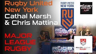 Major League Rugby stars Cathal Marsh, Chris Mattina, Analysis, Predictions & ARC