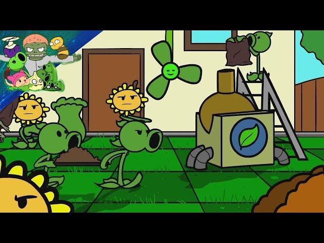 Plants vs Zombies 2 Cartoon (Animation) - Endless War