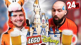 On a construit ce lego Disney sous alc*ol (24h sans dormir)(on a craqué)