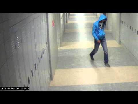 Surveillance video from