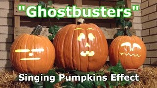 Ghostbusters - Singing Pumpkins Animation Effect