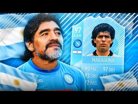 BOSKA IKONA 97 MARADONA PRIME! FIFA 18 ULTIMATE TEAM