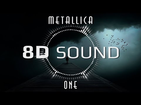 Metallica One 8d Audio