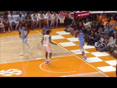 HIGHLIGHTS: Tennessee vs. North Carolina (12.17.17)