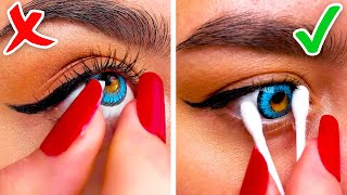 LONG NAILS GIRLY PROBLEMS || 27 USEFUL HACKS FOR ANY SITUATION