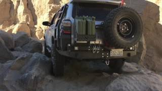 5th gen 4runner offroad in Sandstone canyon Anza Borrego 11-1-16. V...